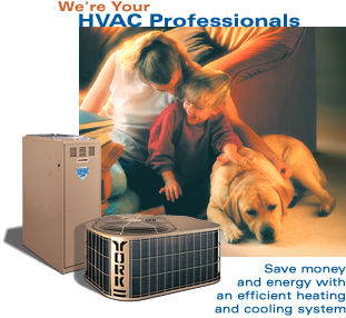 Save money and energy with an efficient heating and cooling system.