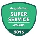 Angie's List 2016 Super Service Award Winner