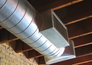 Section of Custom Ductwork