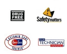 Safety Trained, Drug-free, Top technician
