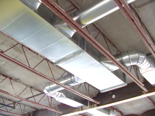 insulated sheet metal ductwork