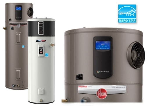 hybrid heat pump hot water heaters
