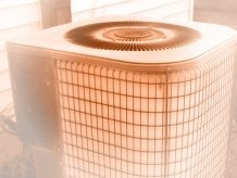 Frosted or iced-up Heat Pump