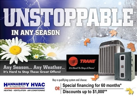 Trane Special Financing, Discount offer