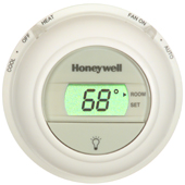 Honeywell T8775 Digital Round Non-Programmable Thermostat