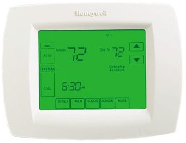 Honeywell VisionPRO 8000 Touchscreen Programmable Thermostat