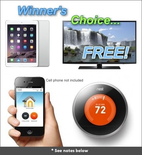 iPad Samsung Smart TV, or Nest thermostat