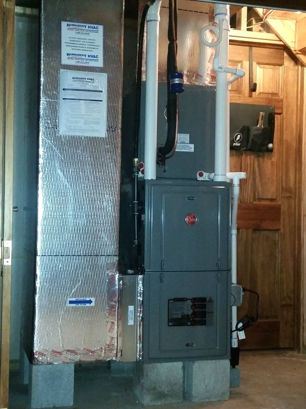 Hvac Installation Job Photos New Air Conditioning Heating Systems