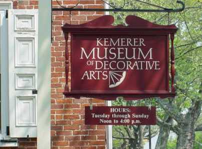 Kemerer Museum of Decorative Arts